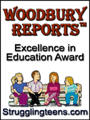 Woodbury Reports - Excellence in Education Award