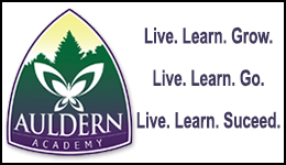 Auldern Academy, Live, Learn, Succeed